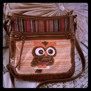 Owl crossbody bag